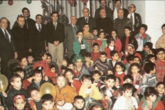 1 - Christmas with children at Saint Anthony of Padova (from our archives)