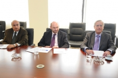 MM. M.Rizcallah, W.Khoury and C.Husseini.