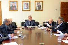 MM. R.Ghostine, E.Makhlouf, W. el-Khazen, A.Kyrillos and M.Comaty.