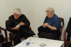 7 - Ladies playing cards.