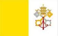 Vatican flag.